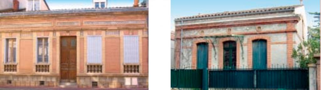 L'architecture des maisons toulousaines