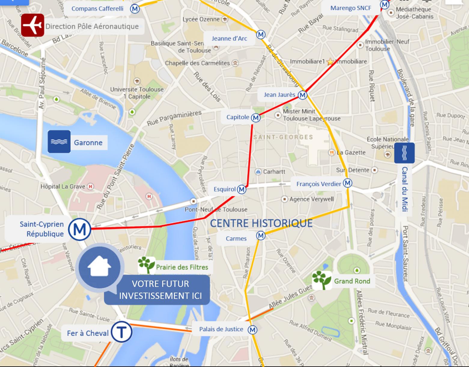 Ville Ayant Le Metro En France