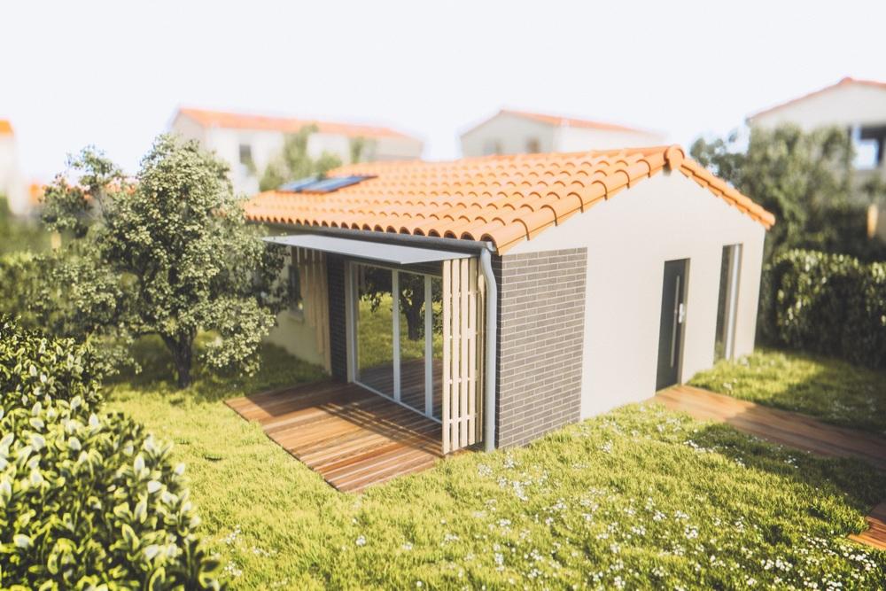 maison neuve villeneuve tolosane