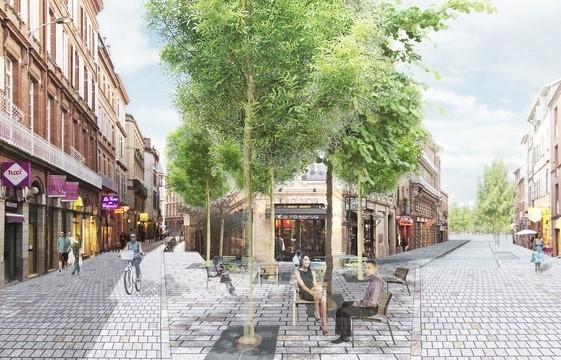 rue des lois et rue gambetta Toulouse
