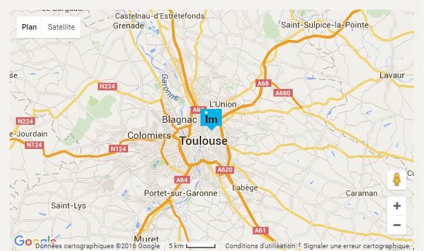 carte résidence bonnefoy-roseraie