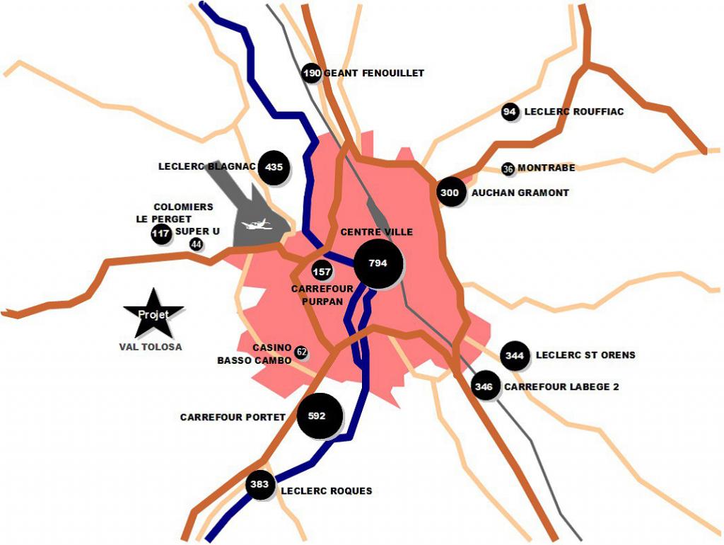Centre-ville Toulouse commerce