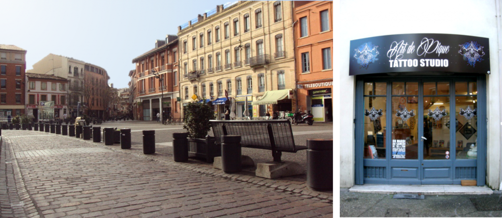 Toulouse - commerces